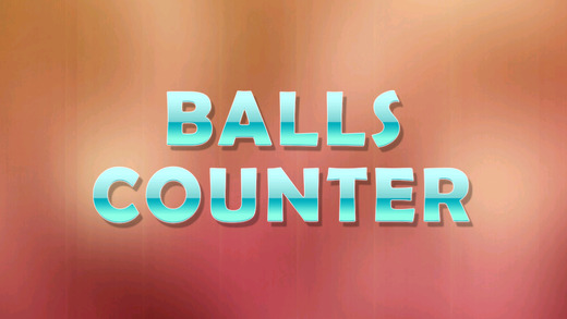 Balls Counter