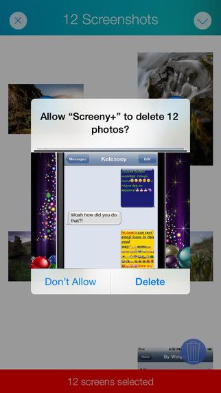 Screeny+ – 屏幕截图删除工具[iOS][¥6→0]丨反斗限免
