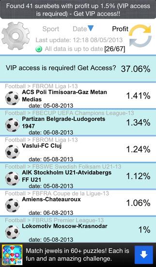 Surebets - Arbitrage Betting