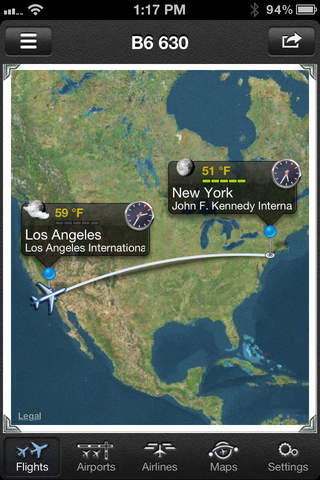 The Flight Tracker Pro screenshot 3