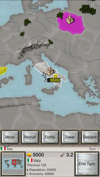 Age of Conquest: World Conquest iPhone Screenshot 5