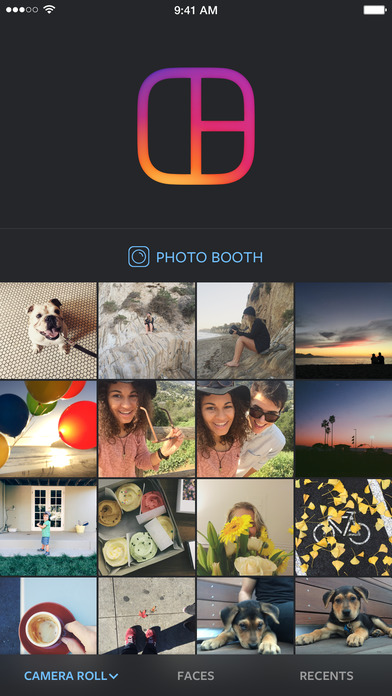 Screenshot for Layout from Instagram in United States App Store