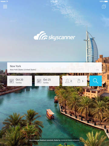 Skyscanner - Hotel Search screenshot