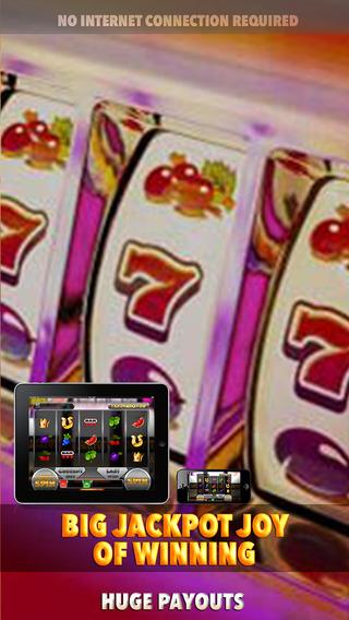 Big Jackpot Joy of Winning Slots Machine - FREE Gambling World Series Tournament