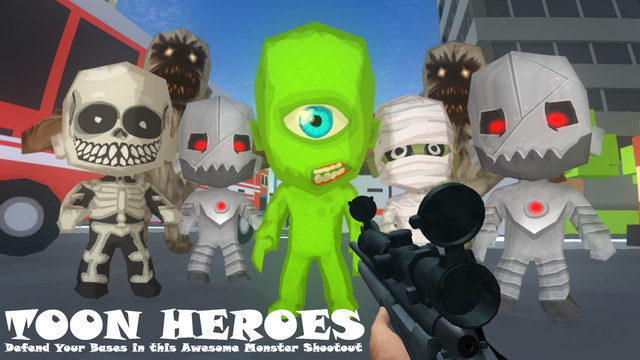 Zombie Heroes Toon Town Monster Shooter Sniper Dead Survival Killer