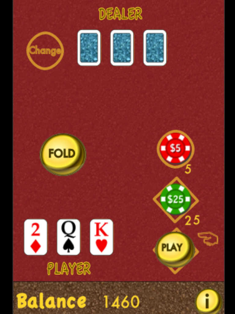 3 poker card game