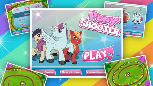 Pony Shooter Blitz : Equestria Magic Bubble Game