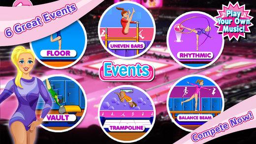 Elite Gymnastics Events Games - Gymnastic Dance Sports Girls Game