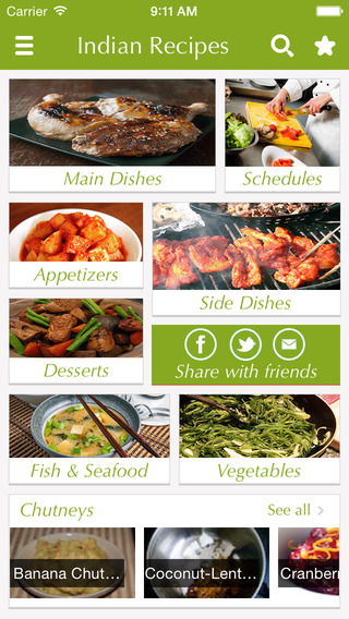 Indian Food Recipes - best cooking tips ideas meal planner and popular dishes