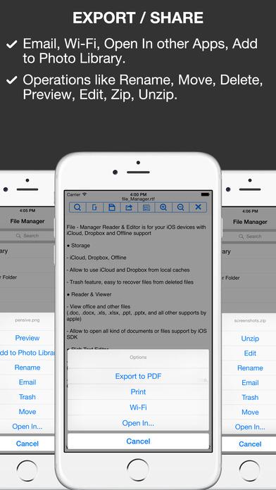 Doc Reader iPhone Screenshot 3