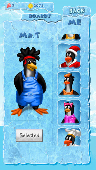 Penguin Adventures : Frozen River