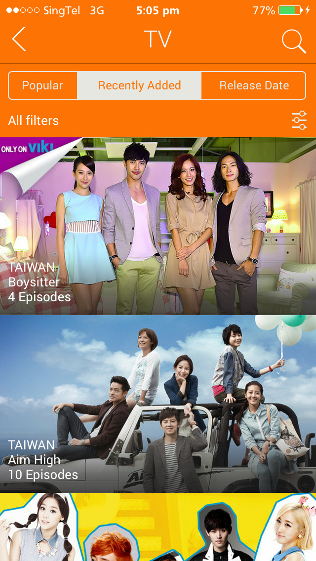 watch kdrama on iphone free