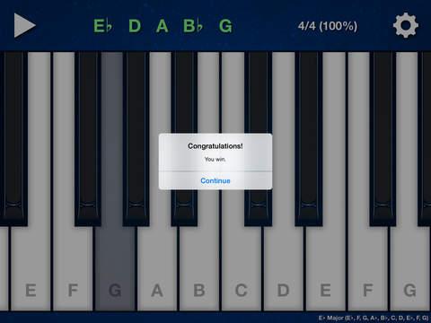 Melody Ear Training iPad Screenshot 2