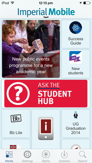 Imperial Mobile: for students of Imperial College London