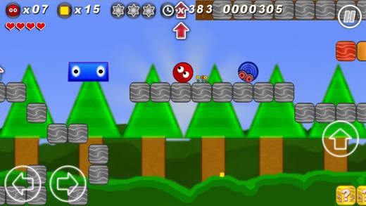 Rocco´s Block Land - a super 2d retro jump and run platform game