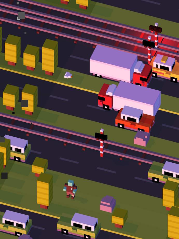 Скачать crossy road 1 2 2 для android
