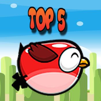 Flappy Mania: Top 5 LOGO-APP點子