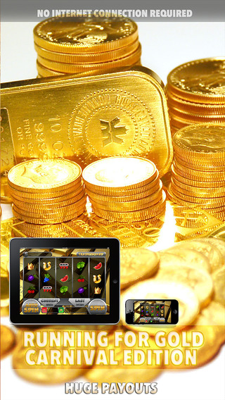 Running for Gold Carnival Slots Edition - FREE Slot Game Spin for Win