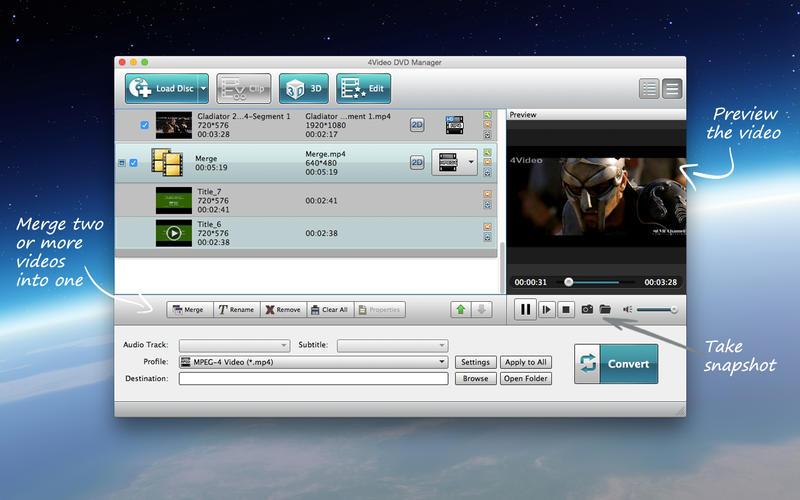 4Video DVD Manager Screenshot - 5