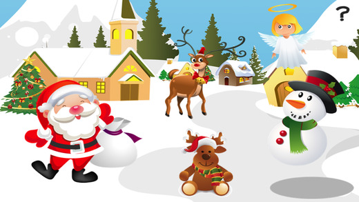 Baby Kids Learn To Sort the Christmas Animals By Size: Educational Game-s