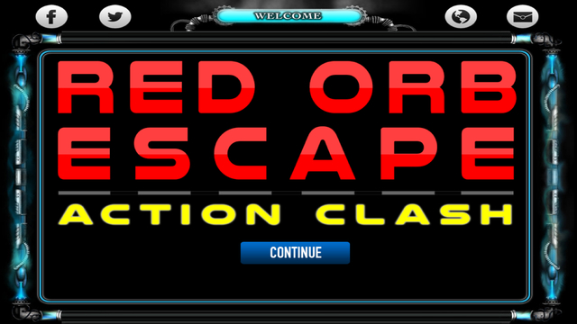 Red Orb Escape: Action Clash Top Fun Defence Strategy Game