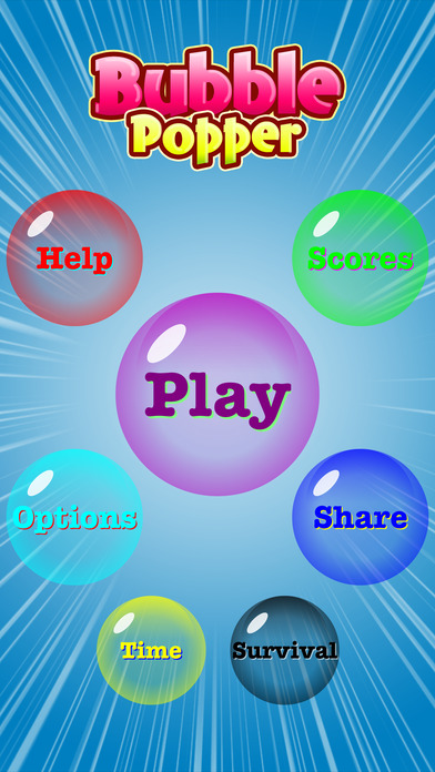Bubble Popper - For Kids, Boys & Girls!!! Games free for iPhone/iPad screenshot