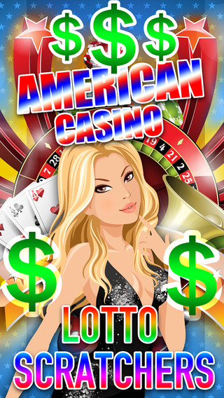 Lucky American Casino – Scratch off tickets and win the lottery with the best jackpots and bonuses