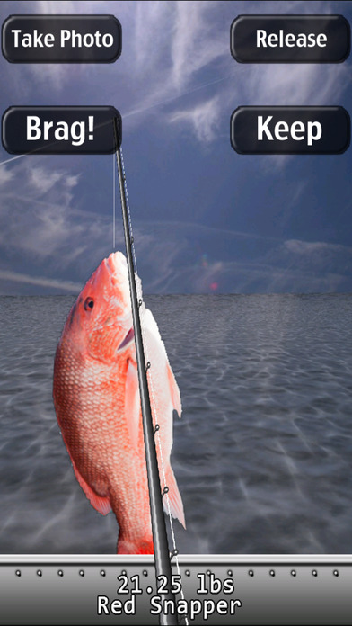 i Fishing Saltwater Edition Lite iPhone Screenshot 2