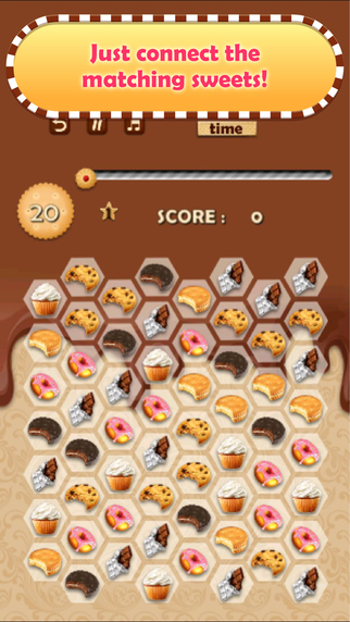 Crazy Cookie Sweet Shop - Match that Puzzle!