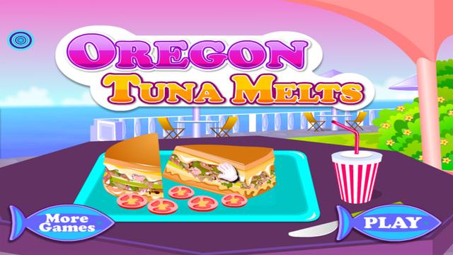 Oregon Tuna Melts - Cooking games