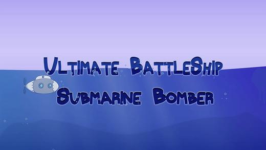 Ultimate Battle Ship Submarine Bomber - New fantasy war shooting game