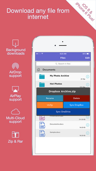 玩工具App|iDrive Downloader and File Manager with Video Music Player免費|APP試玩