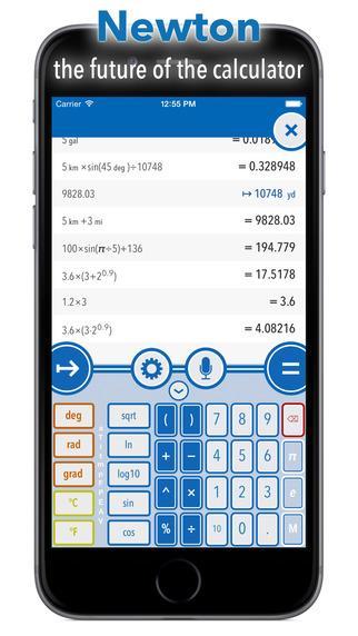 Newton - the future of the calculator