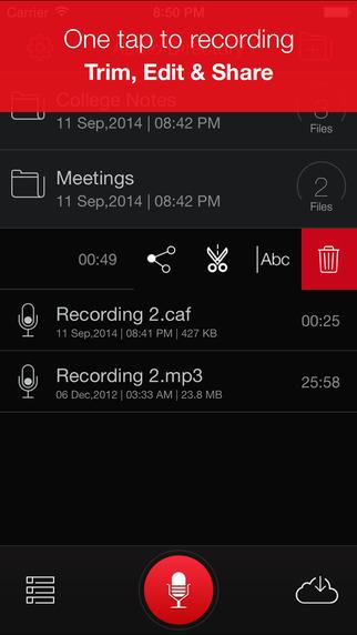 Recorder Plus : Professional Audio And Voice Momo Recording