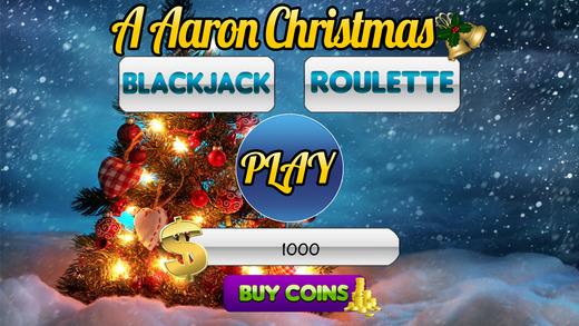 玩遊戲App|AAA Aaron Christmas Slots and Blackjack & Roulette免費|APP試玩