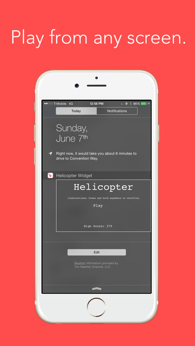 Helicopter Widget screenshot 2