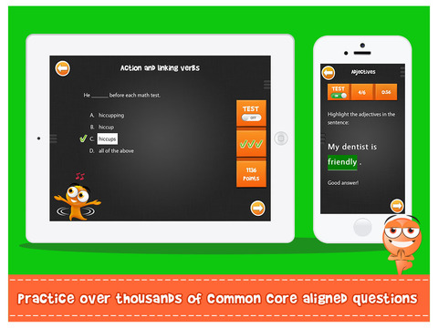 iTooch ENGLISH Grade 5 iPad Screenshot 2