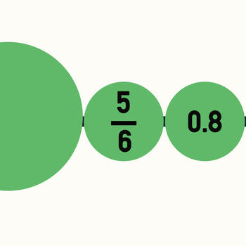 Number Line - Order Fractions,Decimals,Whole Numbers and Negative Numbers LOGO-APP點子