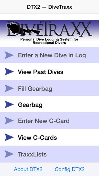 DiveTraXX For Recreational Divers