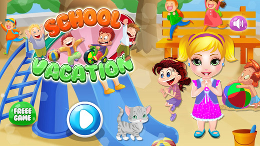 School Baby Vacation Fun Time