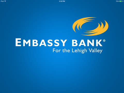 Embassy Bank for iPad