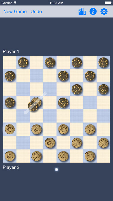 Free Checkers iPhone Screenshot 3