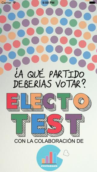 ElectoTest: ¿A qué partido debería votar