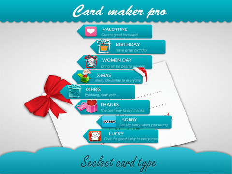 Card Maker Pro for iPad