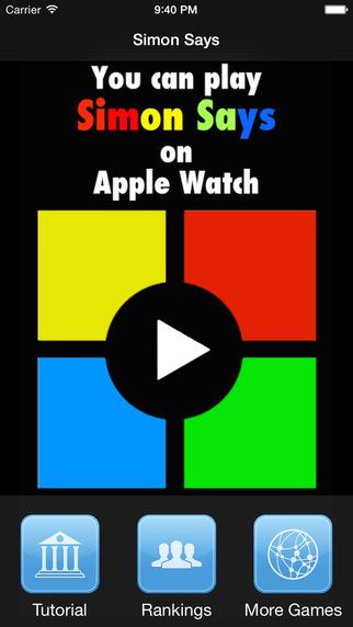 Simon Says Watch Edition