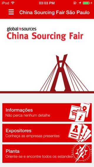 China Sourcing Fair São Paulo
