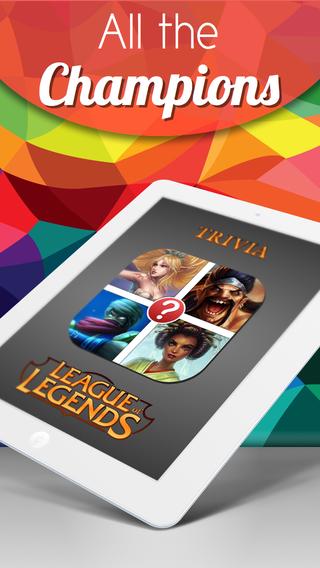 Champions Pic Quiz - League of Legends Edition