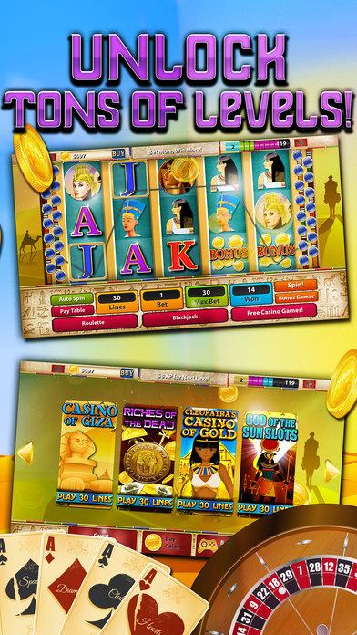 Screenshot 2 Игровые автоматы — Way Пирамиды (Magic Journey Of Gold Casino тире) — БЕСПЛАТНО