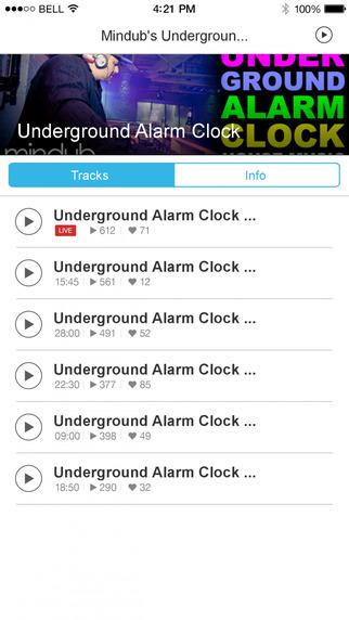 Mindub's Underground Alarm Clock