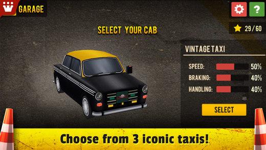 Taxi 3D Parking